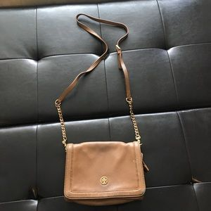 Tory Burch Camel Colour crossbody bag